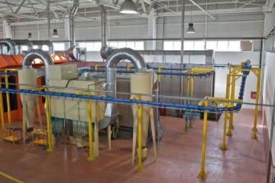 Vopsitorie in camp electrostatic de la Csc Trans Metal Srl