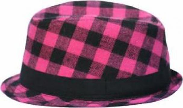 Palarie fetite Pink Fedora de la Born To Love Clothing