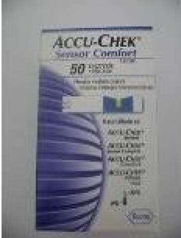Teste glicemie Accu-Chek Sensor Confort de la Business View Solutions Srl