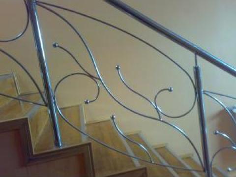 Balustrada inox de la Decorare Inox Srl