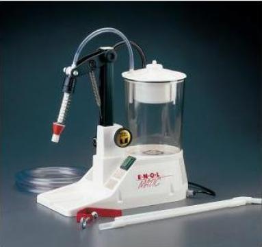 Masina umplere si filtrare cu vacuum Enolmatic - Tenco Italy de la Remplast Caps Srl
