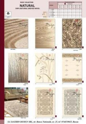 Covoare de lana si sintetice de la Sagerio Design