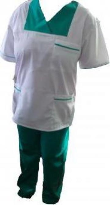 Uniforma de lucru medicala alba si colorata