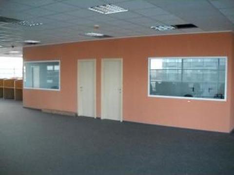 Amenajari interioare, rigips, tavan casetat, tavan fals de la Blue Ambient Construct Srl