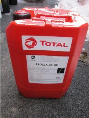 Ulei hidraulic aditivat anti-uzura Total Azolla ZS 68 de la Baza Tehnica Alfa Srl