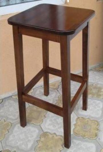 Scaun/taburet inalt lemn masiv (fag) bar, cafenea de la I.f. Ciobanu Ion