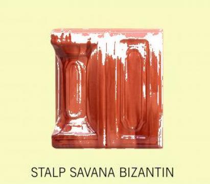 Cahle stalp + placa soba Savana Bizantin de la Fancris Srl