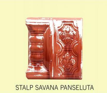 Cahle Stalp + placa pt. soba Savana Panseluta de la Fancris Srl