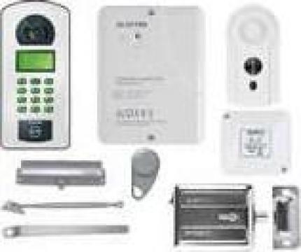 Kit interfon audio de bloc Electra pentru 20 apartamente de la Prosystem Srl