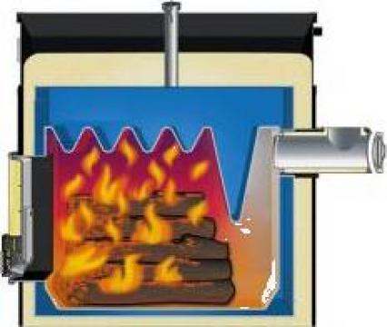 Montaj centrala termica pe lemne si panou de comanda de la Next Technology