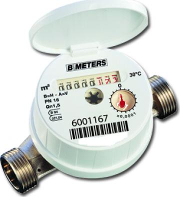 Contor de apa rece/calda BMeters Eurflow - DN 15, DN 20