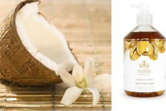 Sapun lichid de maini organic Cocos si Vanilie de la Odesco Snack Srl