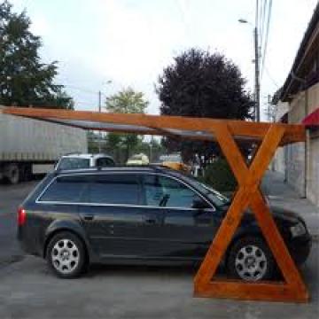 Pergola lemn auto