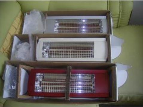 Panouri radiante cu lampi infarosii Toshiba ptr incalzit pui