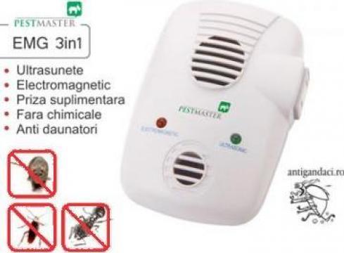 Aparat ultrasunete si unde electromagnetice anti gandaci de la Agan Trust Srl