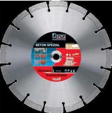 Disc diamantat pentru beton de la Monogram Impex Srl