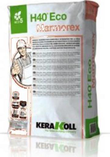 Adeziv profesional pt. marmura H40 Eco Marmorex - Kerakoll
