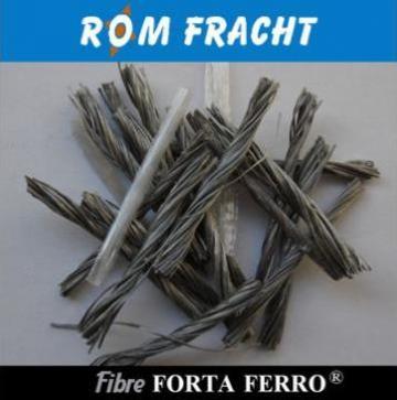 Fibre polipropilena pentru beton Forta-Ferro de la Rom Fracht Srl