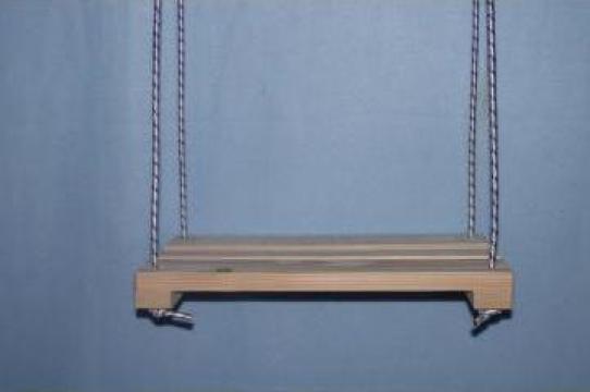 Leagan lemn copii 40L20l5h de la Irina&Horatiu Wood Design