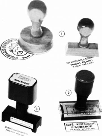 Stampile de lemn marcare prin stampilare