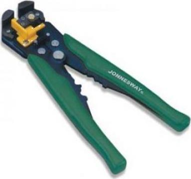 Cleste pentru dezizolat, sertizat si taiere cablu 205mm