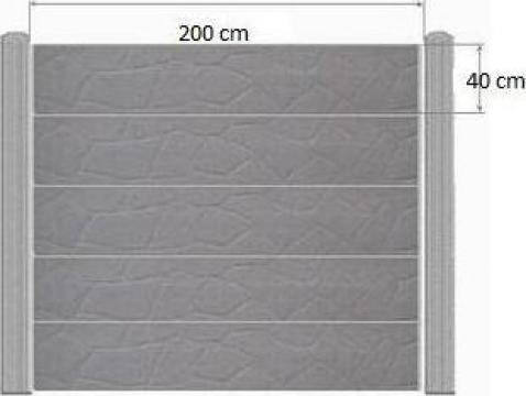 gard placi beton dragomiresti vale construim pentru tine garduri prefabricate srl id 10759487. Black Bedroom Furniture Sets. Home Design Ideas