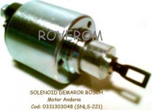 Solenoid 12v demaror Bosch, motor Andoria de la Roverom Srl