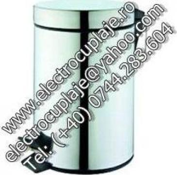 Cosuri gunoi inox , cu pedala 20 litri de la Electrofrane