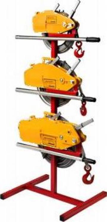 Troliu manual cu cablu 5400 kg (Tirfor) de la Www.toplift.ro