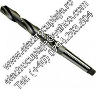 Burghiu pentru metal (lung) HSS DIN 340 de la Electrofrane