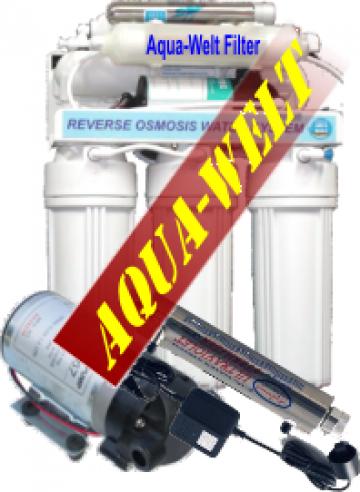 Filtru de apa purificator cu osmoza inversa AW8UV-P de la Welthaus Srl