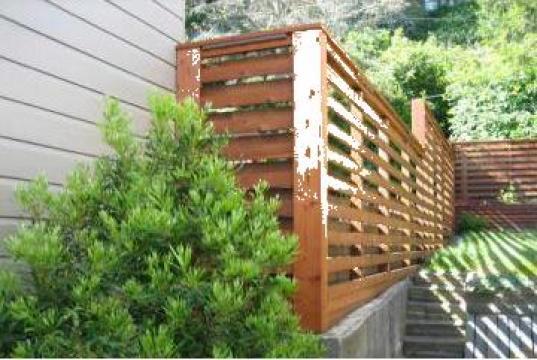 Garduri de lemn de la Rollux Construct