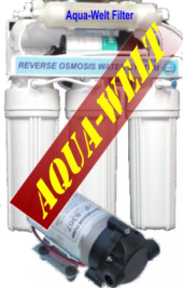 Filtru apa purificator osmoza inversa InLine AW400/5 de la Welthaus Srl