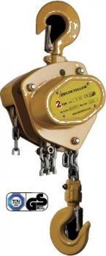Palan manual cu lant 1 TO X 3 M DY de la Www.toplift.ro