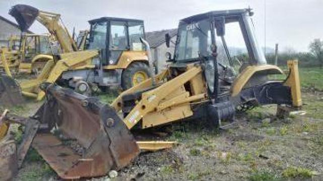 Dezmembrare buldoexcavator Case 580 k AN 1993