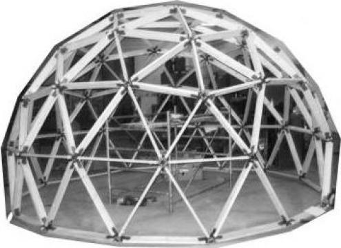 Cabana dom Start-dom X-Hobby diametrul 8,00m de la Eee-habitax - Domuri Geodezice - Geodom