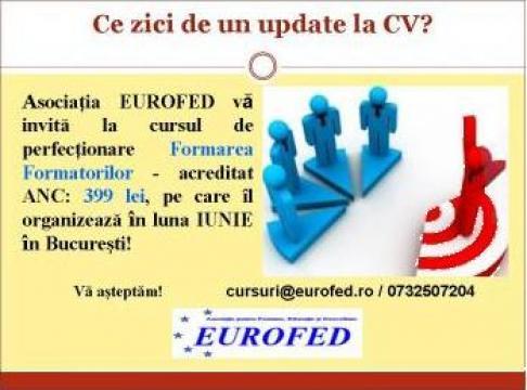 Curs Formarea Formatorilor de la Asociatia Eurofed