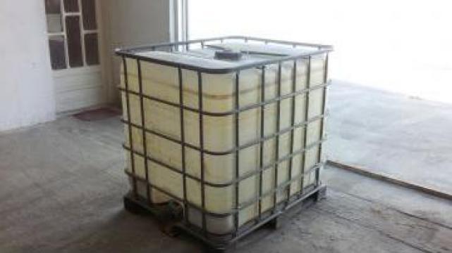 Bidon / Rezervor IBC 1000 L cadru + palet metalic/plastic de la Dyos Industry
