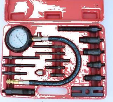 Tester compresie diesel 0 - 70 bar 16 bucati de la Zimber Tools
