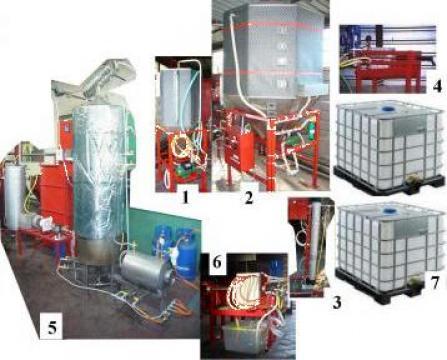Instalatii masini rafinare, dezodorizare ulei, filtre ulei