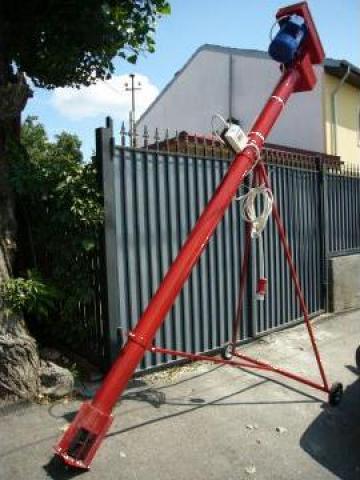 Snec elicoidal transport 2.2 metri de la Gamm Productie Servicii Comert Srl