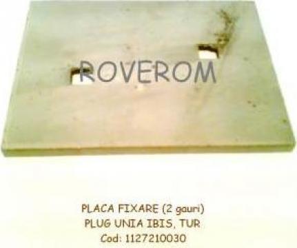 Placa fixare plug Unia, Ibis, Tur de la Roverom Srl