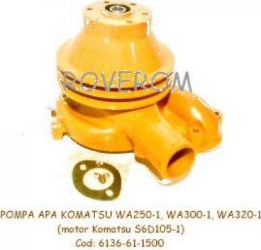 Pompa apa Komatsu WA250-1, WA300-1, WA320-1 (motor S6D105)