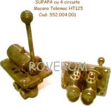 Supapa pneumatica 4 circuite macara Telemac HT125