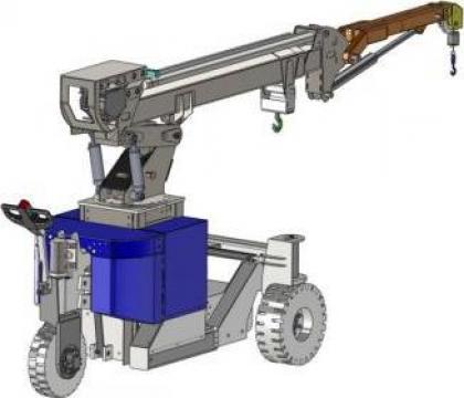Macarale electro-hidraulice Mobilev de la Elmas