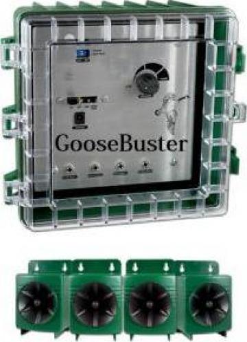 Dispozitiv pentru alungarea pasarilor Goose Buster de la Www.casa-animalelor.ro