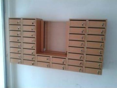 Cutii postale de 36 apartamente de la Corban Mobila Srl