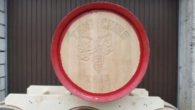 Butoi de stejar pentru vin sau tuica de la PFA Tanase Victor