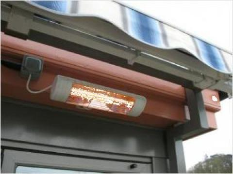 Radiator de exterior cu lampi infrarosii 1500 W