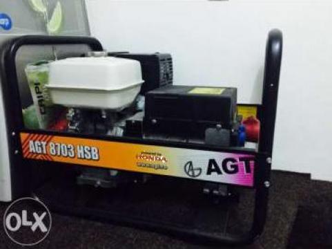 Generator de curent Honda AGT 8703 HSB de la Service Motoare Generatoare Honda